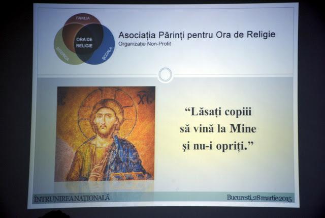 Intrunirea Nationala a Asociatiei Parinti pentru ora de Religie 122