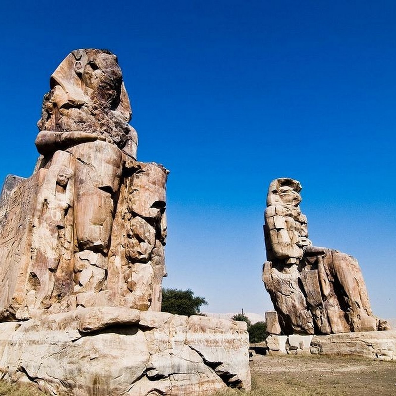 Colossi of Memnon: The 'Singing' Statues