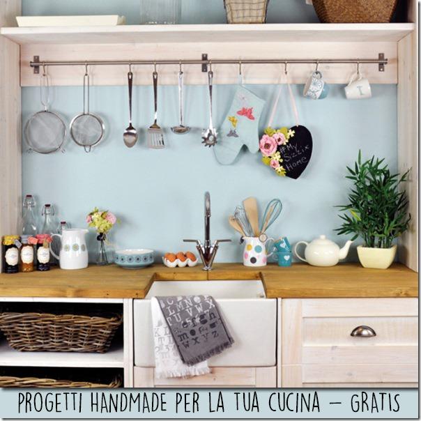 10 idee fai da te per la tua cucina diy cafe creativo - Mensole cucina country ...