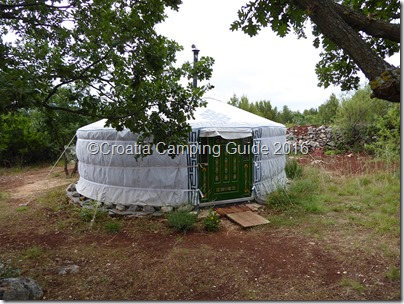 Croatia Camping Guide - Yurt