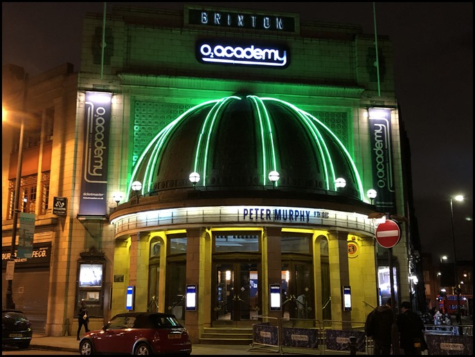 Peter Murphy at Brixton Academy