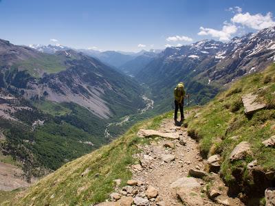 Baixant cap a la vall de Pineta