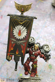 Flesh Tearer Banner bearer