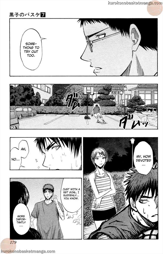 Kuroko no Basket Manga Chapter 61 - Image 7