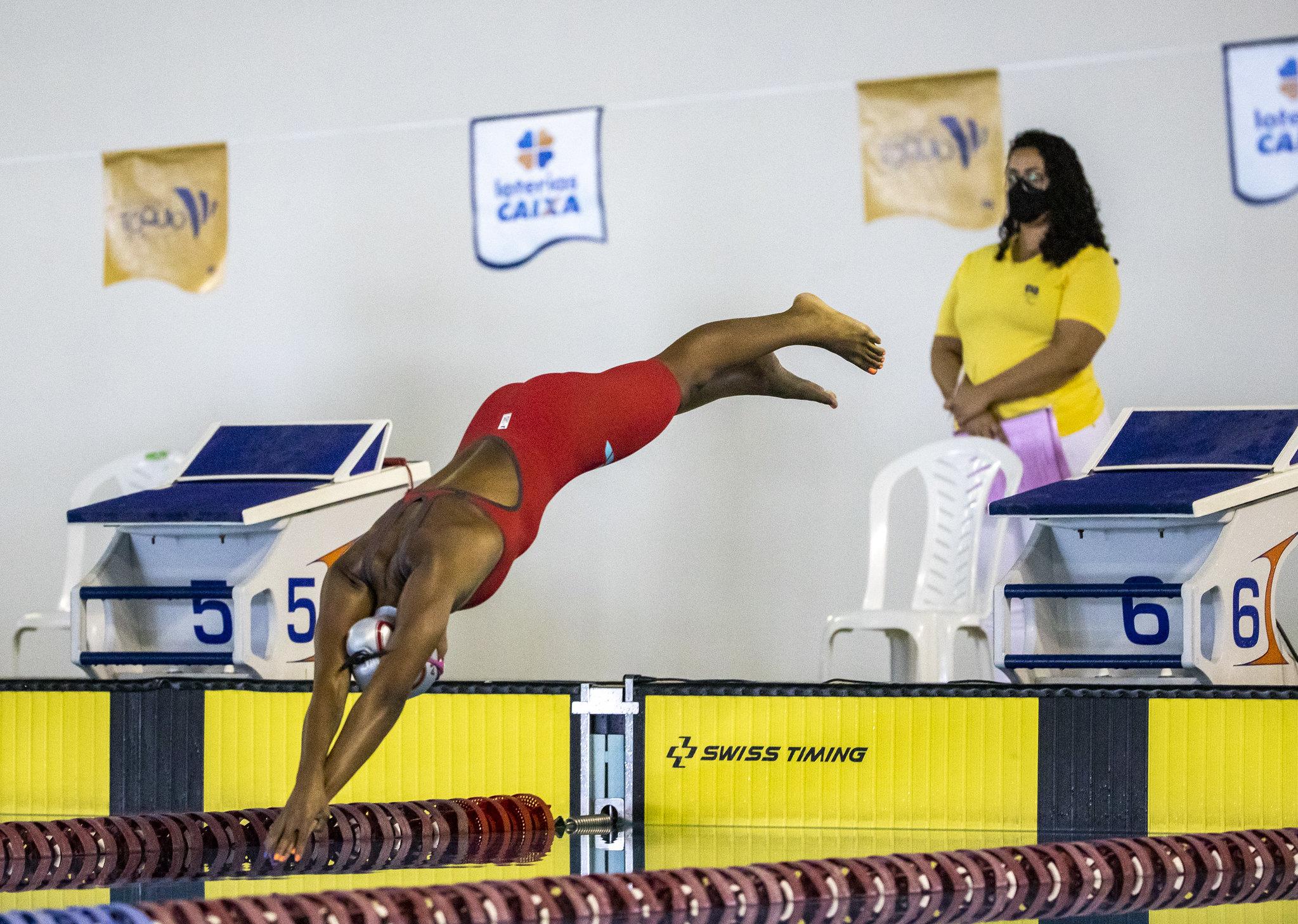 Ana Carolina Soares natação paralímpica