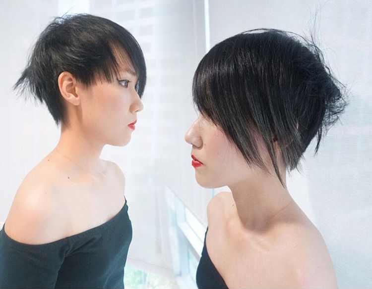 creative cut shag hairstyle 2017