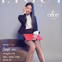 LiGui 2015.03.18 网络丽人 Model 佳怡 [39+1P] cover.jpg