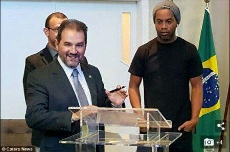 Ronaldinho Running for Senate for  in Brazil