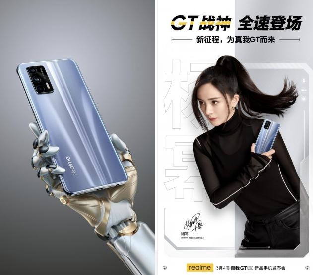 ponsel flagship realme gt 2021