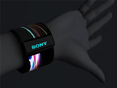 Future Computer Technology Touchscreen OLED Display Wrist Computers Watches 2