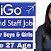IndiGo Recruitment for Various Executive Vacancies Online- 2021