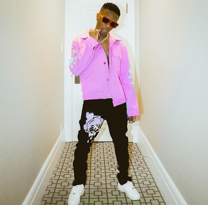 Wizkid's New Look In New Photos