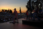 Keith Anderson countries the Sonoma County Fair with our good friend Keio on drums