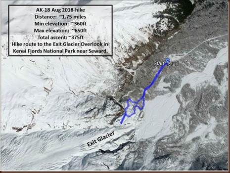 Seward AK-hike-18 Aug 2018