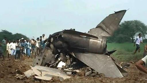 Jet Tempur MiG-21 AU India Jatuh