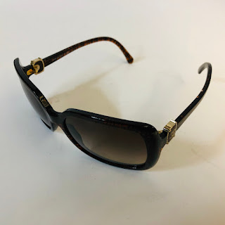 Chanel Glittered Sunglasses