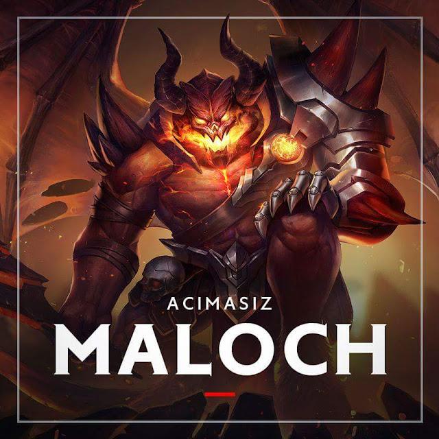 Maloch Altınla Satışa Çıktı - Arena of Valor