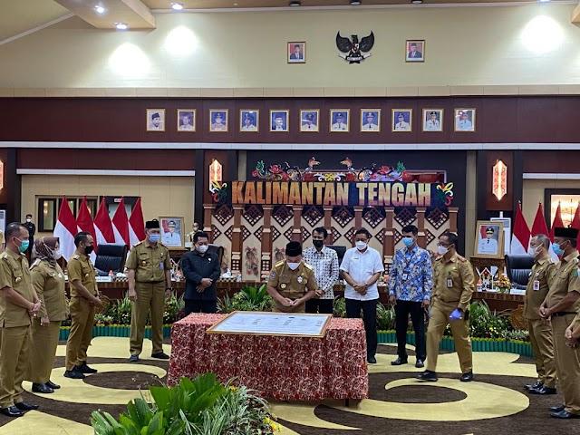 Gubernur Sugianto: Aset Daerah jadi Perhatian Khusus Pemprov