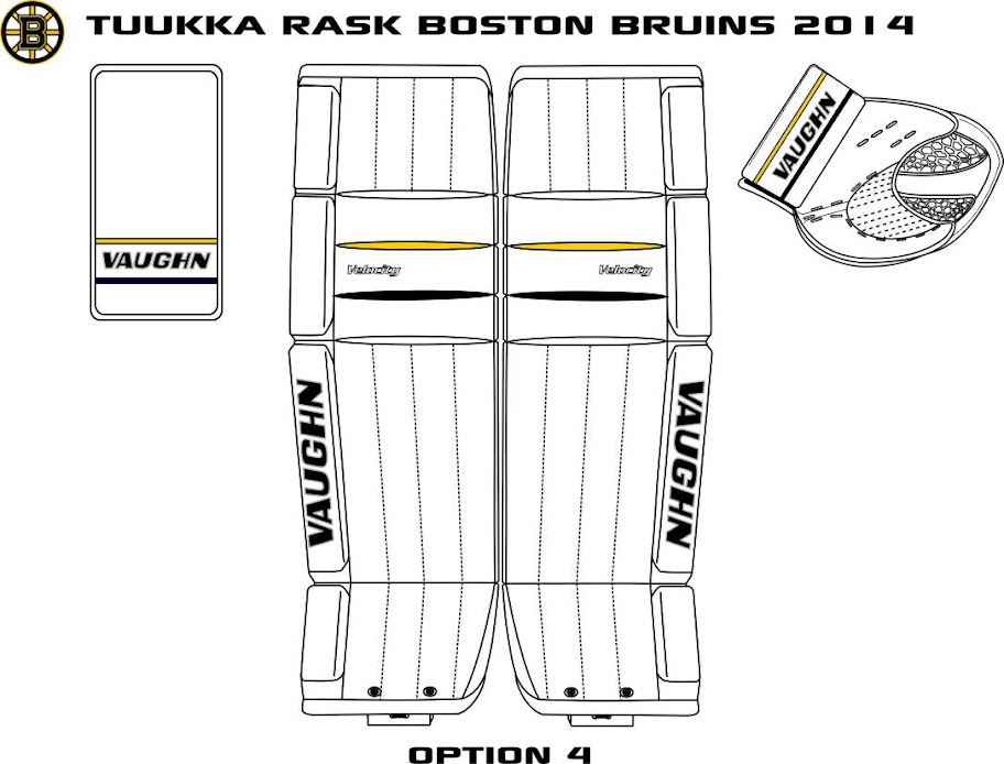 Tuukka Rask Vaughn Goalie equipment