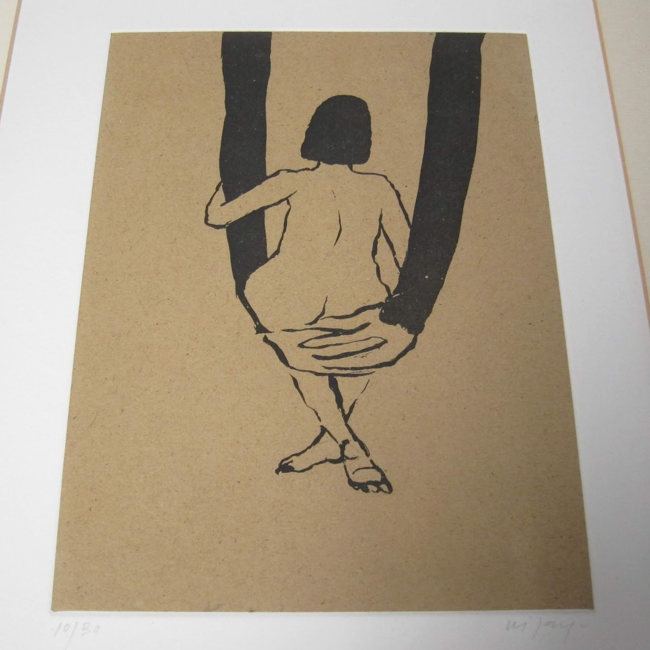 Signed Lithograph on Handmade Paper
