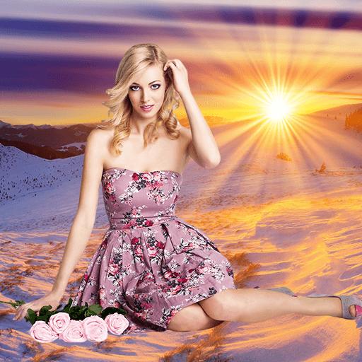 Sunset Photo Editor - Sunset Photo Frames