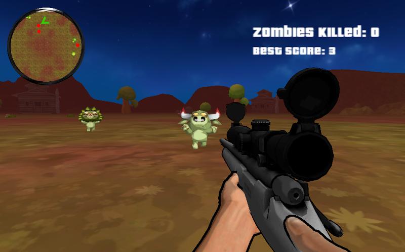 Скриншот Sniper Attack : Zombie Animals