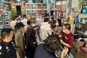 Operasi Gempur Rokok Ilegal, Sejumlah Merk Rokok Diamankan Bea Cukai Makassar di Bone