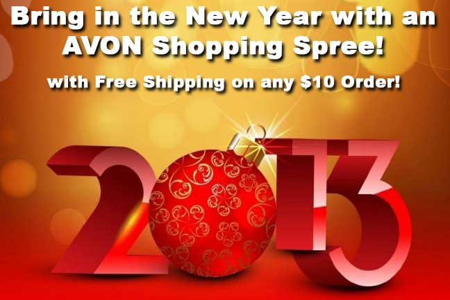 Avon Free Shipping Going on Now!