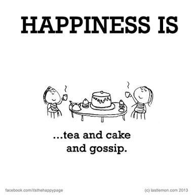 Čaj, torta i tračanje.
