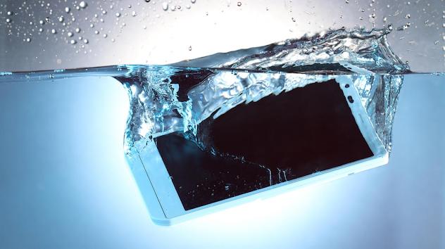 ¿Qué hacer cuando tu celular se cae al agua?
