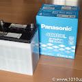 購入したバッテリーPanasonic N-40B19L/SB
