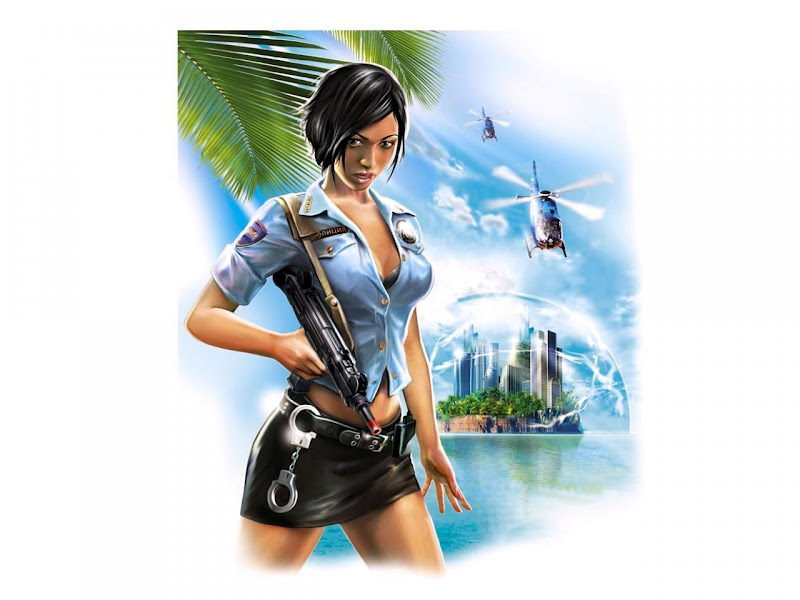 Lady Of Police Of Future, Fiction 1