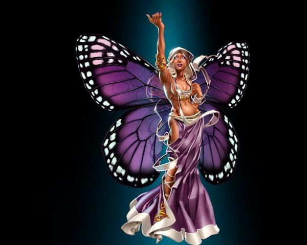 Silent Sprite Baby, Fairies 3