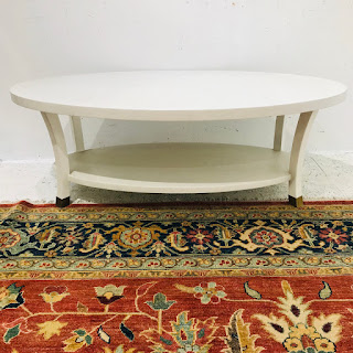 Made Goods Oval Cocktail Table