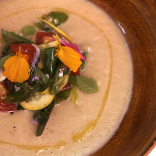 Daniel Patterson's Roasted Eggplant Soup.