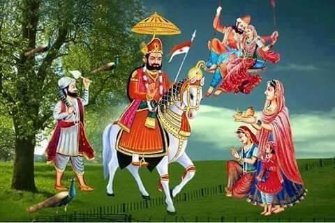 राजस्थान के  प्रमुख लोक देवता【RAJASTHAN KE PRAMUKH LOK DEVTA】