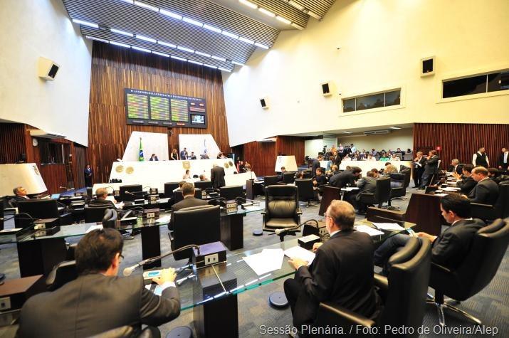 Sessão Plenária. / Foto: Pedro de Oliveira/Alep