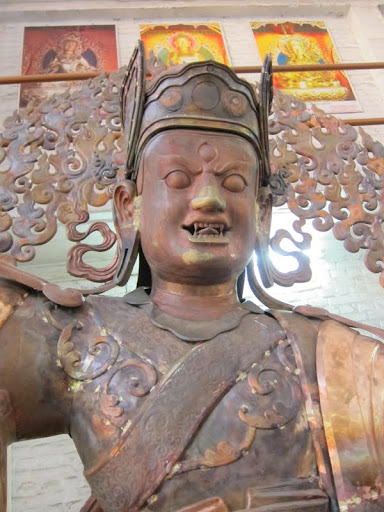 Padmasambhava statue for Lawudo still being finished