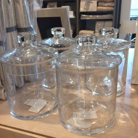 John Lewis Home Glass Containers