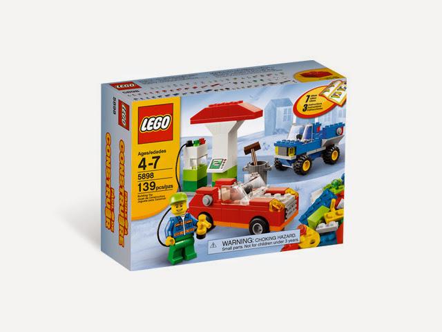 5898 レゴ 基本セット ガソリンスタンド