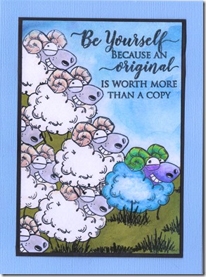BE YOURSELF SHEEP