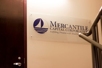 Photo: Up the stairs to the Mercantile Capital Corporation office on the second floor... www.504Experts.com