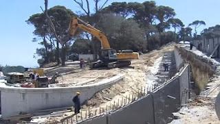 La réalisation du viaduc d'Oued Ouchayeh enregistre une nette avancée