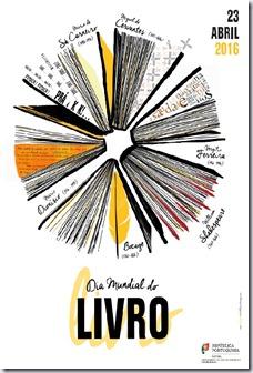 Cartaz Dia Mundial do Livro 2016 dglb