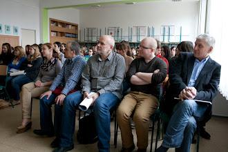 Photo: Účast na studentské konferenci Vyhnání - vysídlení - odsun? (VIII. ročník studentské konference Gymnázium Olgy Havlové v Ostravě Porubě, 26. - 27. březen 2013).