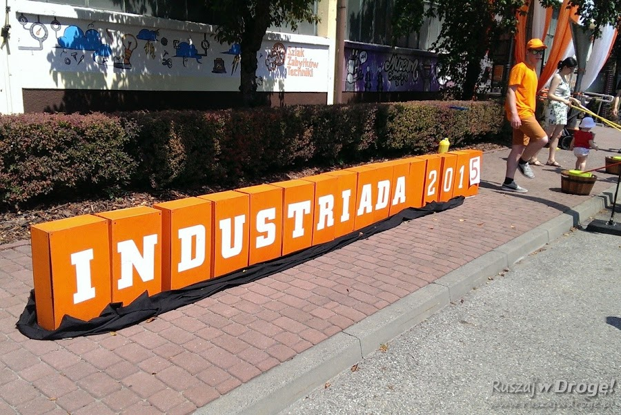 Industriada 2015 - pomarańcz zalewa śląskie