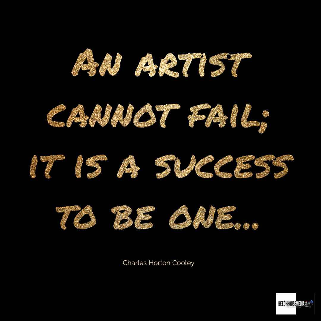 an artist can not fail