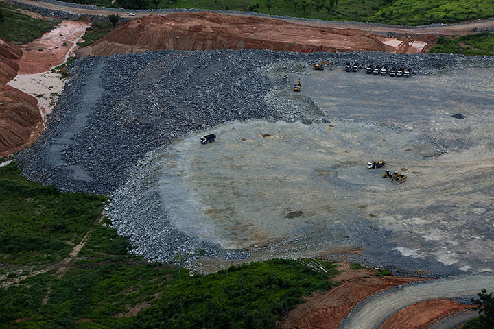 The government, led by president Dilma Rousseff, says the dam is necessary if Brazilian energy production is to keep pace with its economy. This grew 7.5% in 2010, but dropped off significantly to 2.7% last year. Photograph: Marizilda Cruppe/Greenpeace