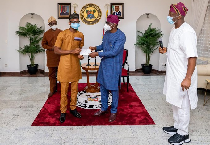 Sanwo-Olu Gives LASU's Best Bsc And Msc Students 5 Million Naira Each