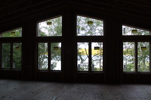 Windows to the lake